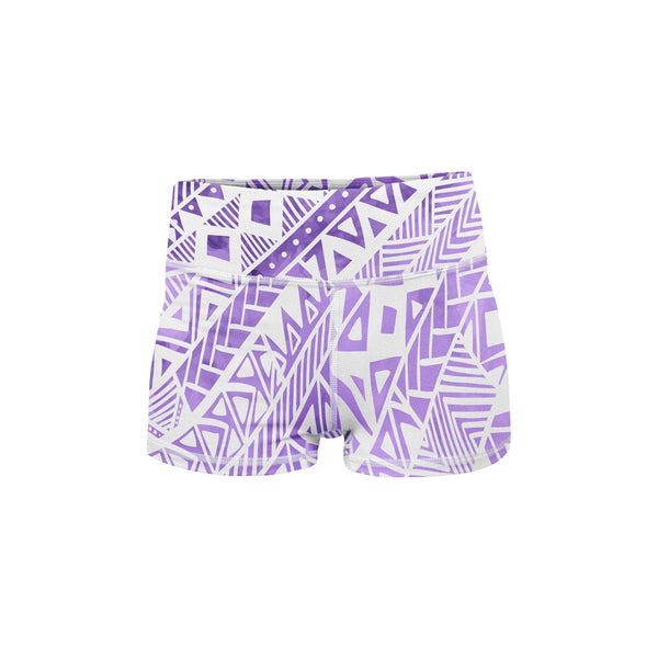 Tribal Yoga Shorts  -  Women's Shorts