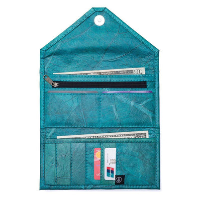 Envelope Clutch - Turquoise  -  LL Envelope Clutch Turquoise