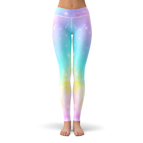 Unicorn Dreams Leggings  -  Yoga Pants