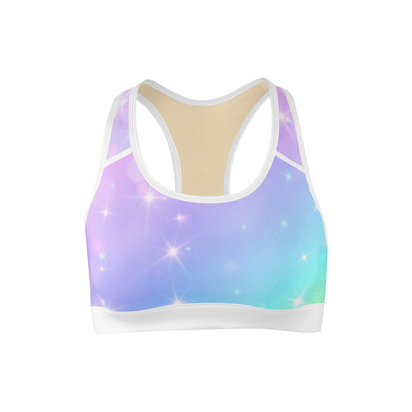 Unicorn Dreams Sports Bra