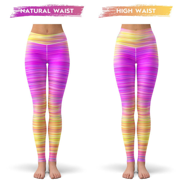 Vibrant Leggings  -  Yoga Pants