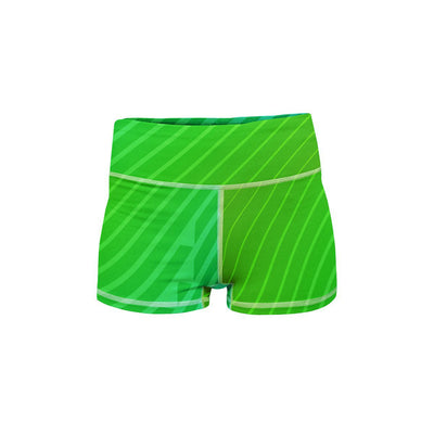 Vivid Yoga Shorts  -  Women's Shorts