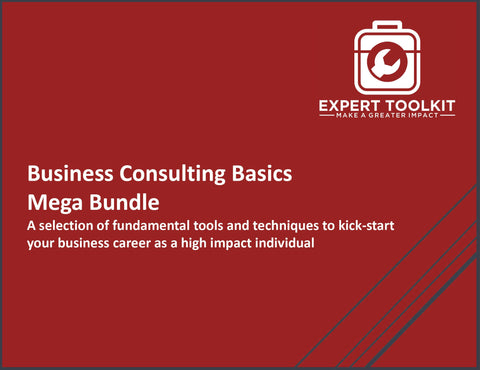 The Business Consulting Basics Bundle by Expert Toolkit - Management Consulting and Business Analysis Tools