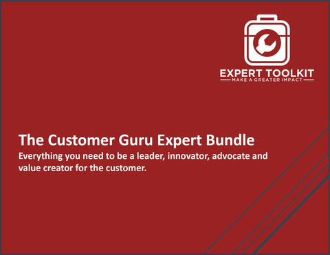 The Customer Guru Bundle by Expert Toolkit - Management Consulting Tools to Improve Customer Experience