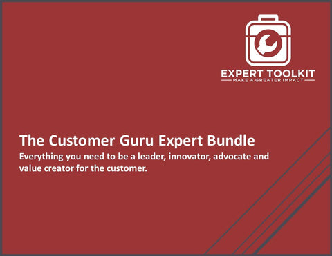The Customer Guru: All the tools you need to be a leader, innovator, advocate and value creator for the customer.