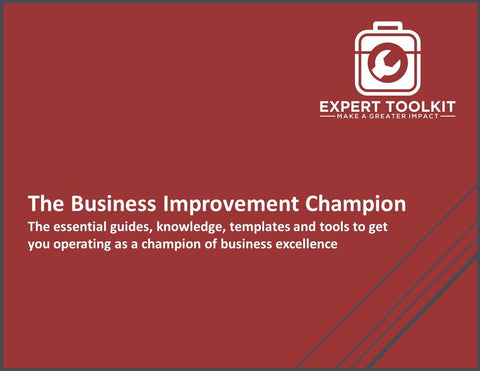 The Business Improvement Champion: The essential guides, knowledge, templates and tools to get you operating as a champion of business excellence