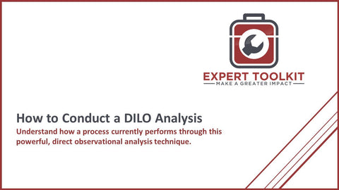 Expert Toolkit - How to Conduct to DILO Studies - Introduction