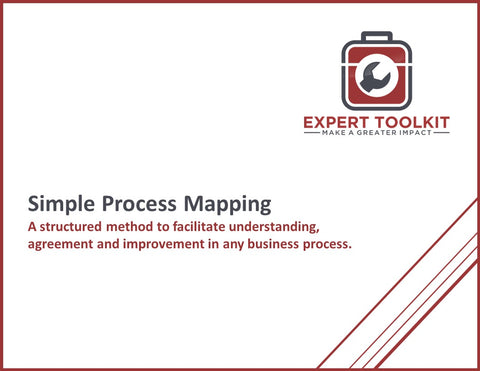 Guide to Simple Process Mapping by Expert Toolkit - Cover