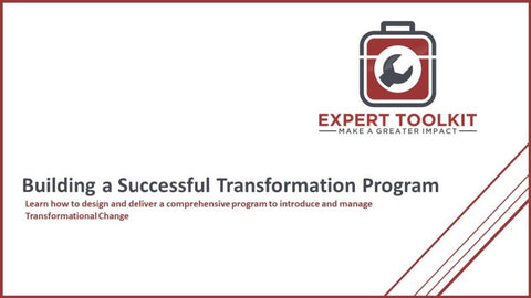 Building A Successful Transformation Program - Default - Guide