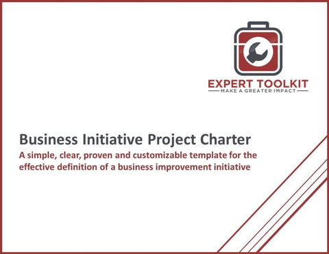 Business Initiative Project Charter Template - Default - Template