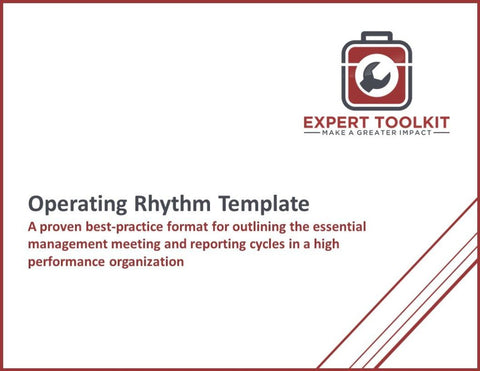 Business Operating Rhythm Template And Guide - Default - Template