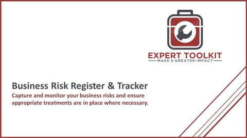 Business Risk Register & Tracker - Default - Tool