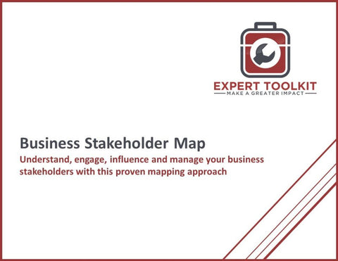 Business Stakeholder Map Guide And Template - Default - Template