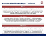 Business Stakeholder Map Guide And Template - Template