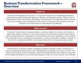 Business Transformation Framework - Guide