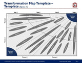 Business Transformation Map Template - Template