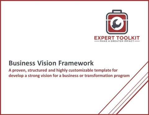 Business Transformation Vision Framework Template - Default - Template