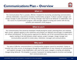 Communication Plan Guide And Template - Template