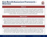 Cost-Benefit Assessment Framework - Template