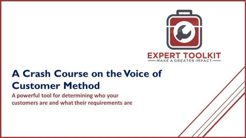 Crash Course In Voice Of The Customer - Default - Guide