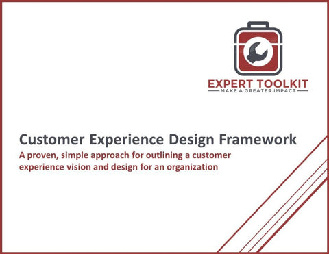 Customer Experience Design Framework Guide & Template - Default - Template