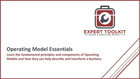 Essentials Of Operating Model Design - Default - Guide