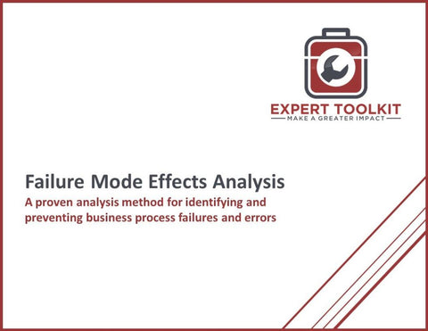 Failure Mode Effects Analysis Guide & Template - Default - Template