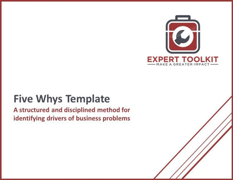 Five Whys Template - Default - Template