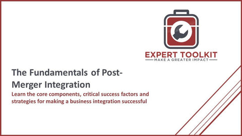 Fundamentals Of Post-Merger Integration - Default - Guide
