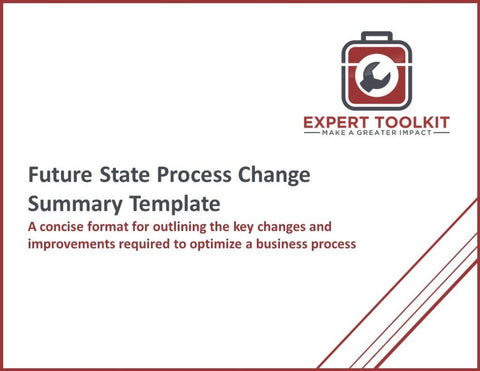 Future State Process Change Summary Template - Default - Template