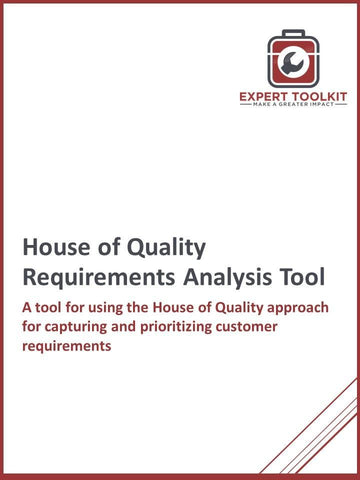 House Of Quality Requirements Analysis Tool - Default - Tool