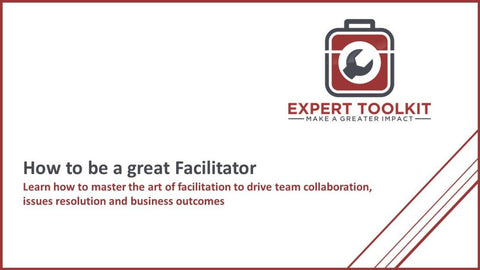 How To Be A Great Facilitator - Default - Guide