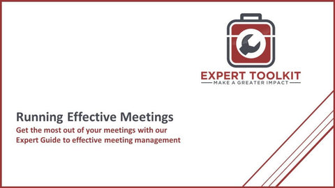 How To Run Effective Business Meetings - Default - Guide