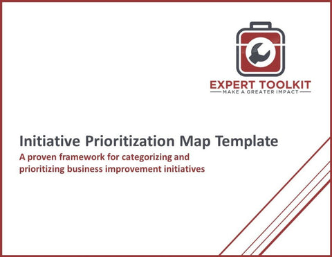 Initiative Prioritization Map Guide & Template - Default - Template