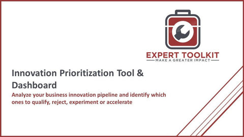 Innovation Prioritization Tool & Dashboard - Default - Tool