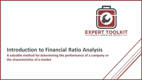 Introduction To Financial Ratio Analysis - Default - Guide