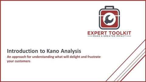Introduction To Kano Analysis - Default - Guide