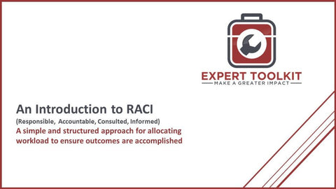 Introduction To Using The Raci Process - Default - Guide