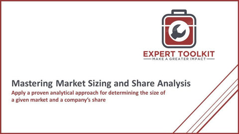 Mastering Market Sizing & Share Analysis - Default - Guide