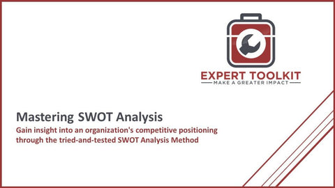 Mastering Swot Analysis - Default - Guide