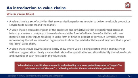 Mastering Value Chain Analysis by Expert Toolkit
