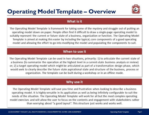 Operating model template by expert toolkit operating model template template fbccfo Image collections