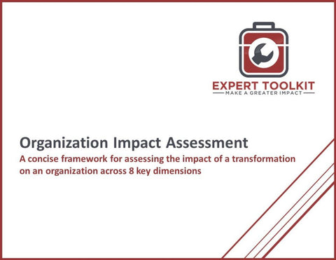 Organization Impact Assessment Template And Guide - Default - Template