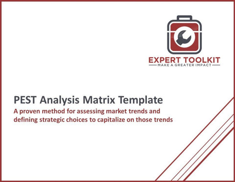 Pest Analysis Trend Matrix Guide & Template - Default - Template
