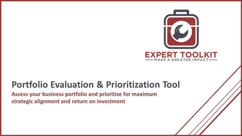 Portfolio Evaluation & Prioritization Tool - Default - Tool