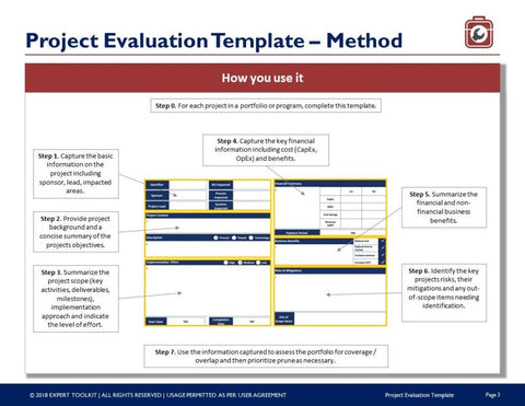 Project evaluation template guide by expert toolkit project evaluation template guide template maxwellsz