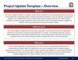 Project Executive Update Guide & Template - Template