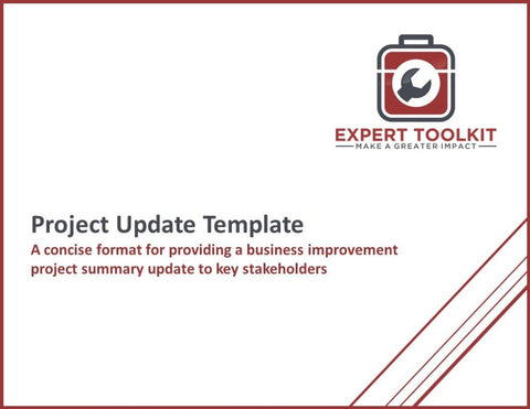 Project Executive Update Guide & Template - Default - Template