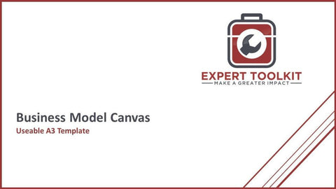 Ready-To-Use Business Model Canvas Template - Default - Template