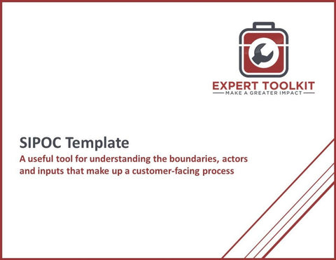 Ready-To-Use Sipoc Template - Default - Template